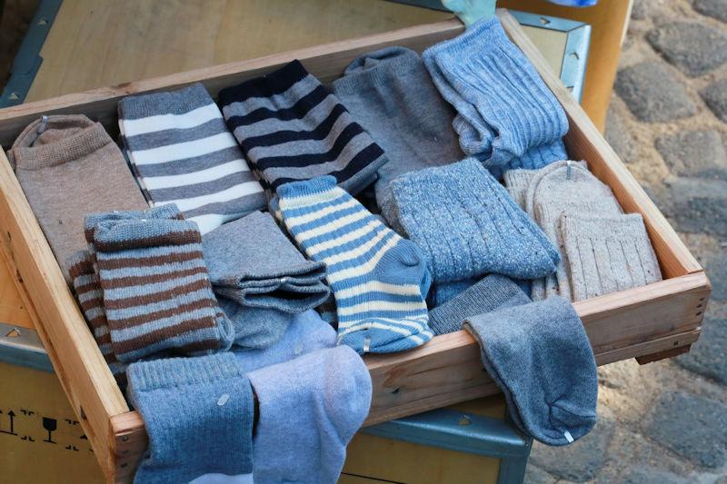 sock drawer full of cash?