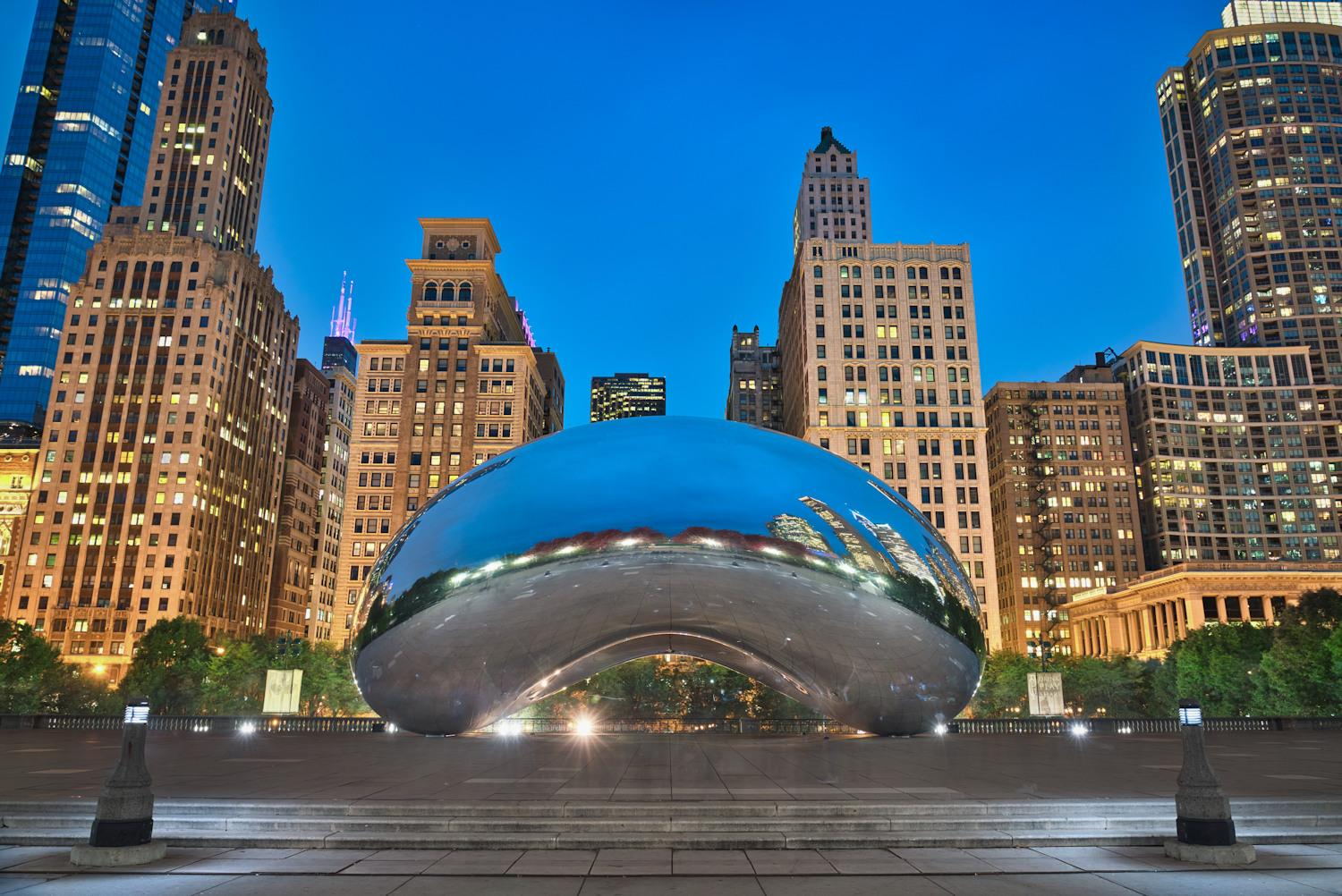 The bean at Chicago Institute of Art