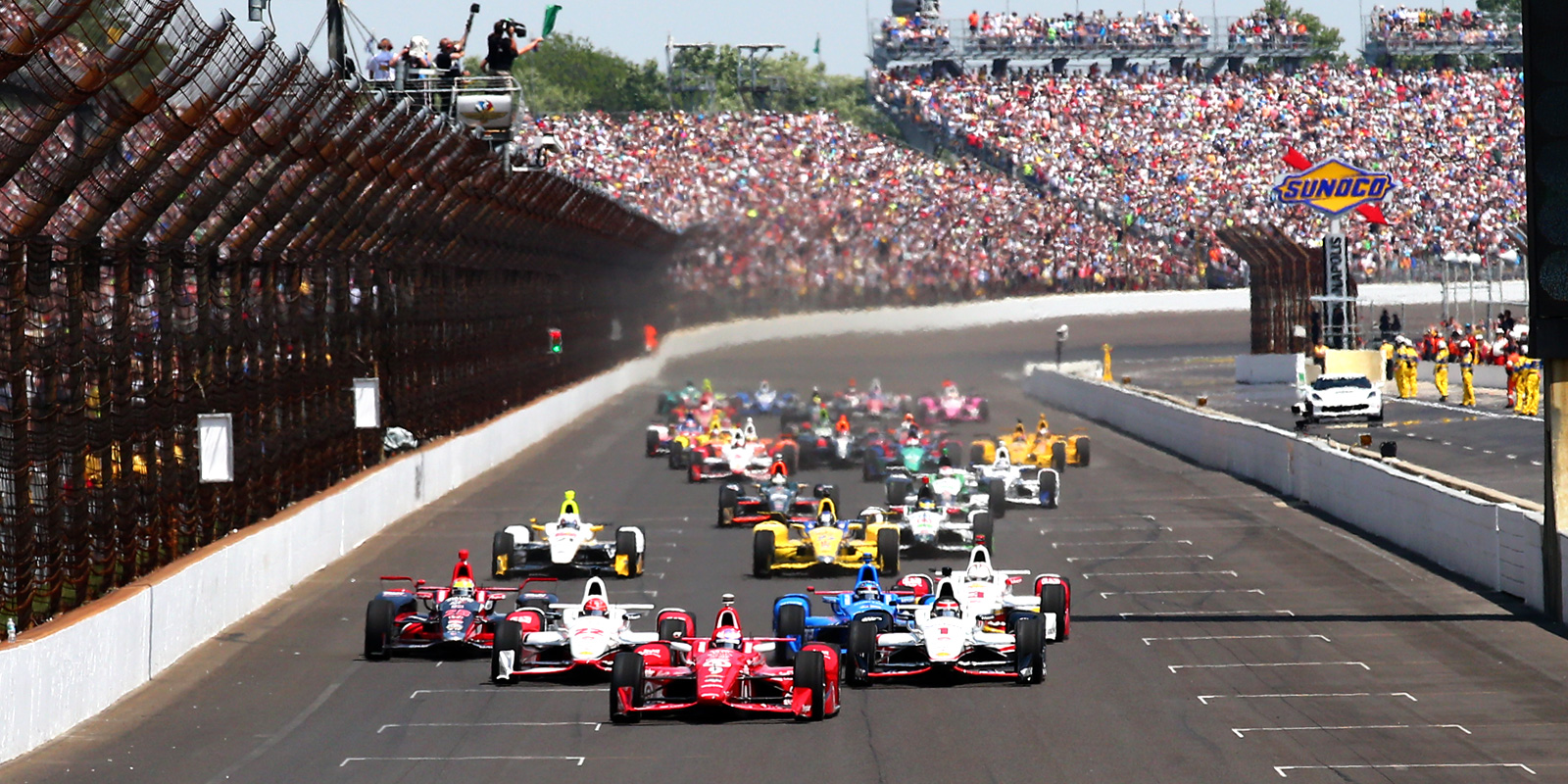 Indy 500 race in Indianapolis, IN
