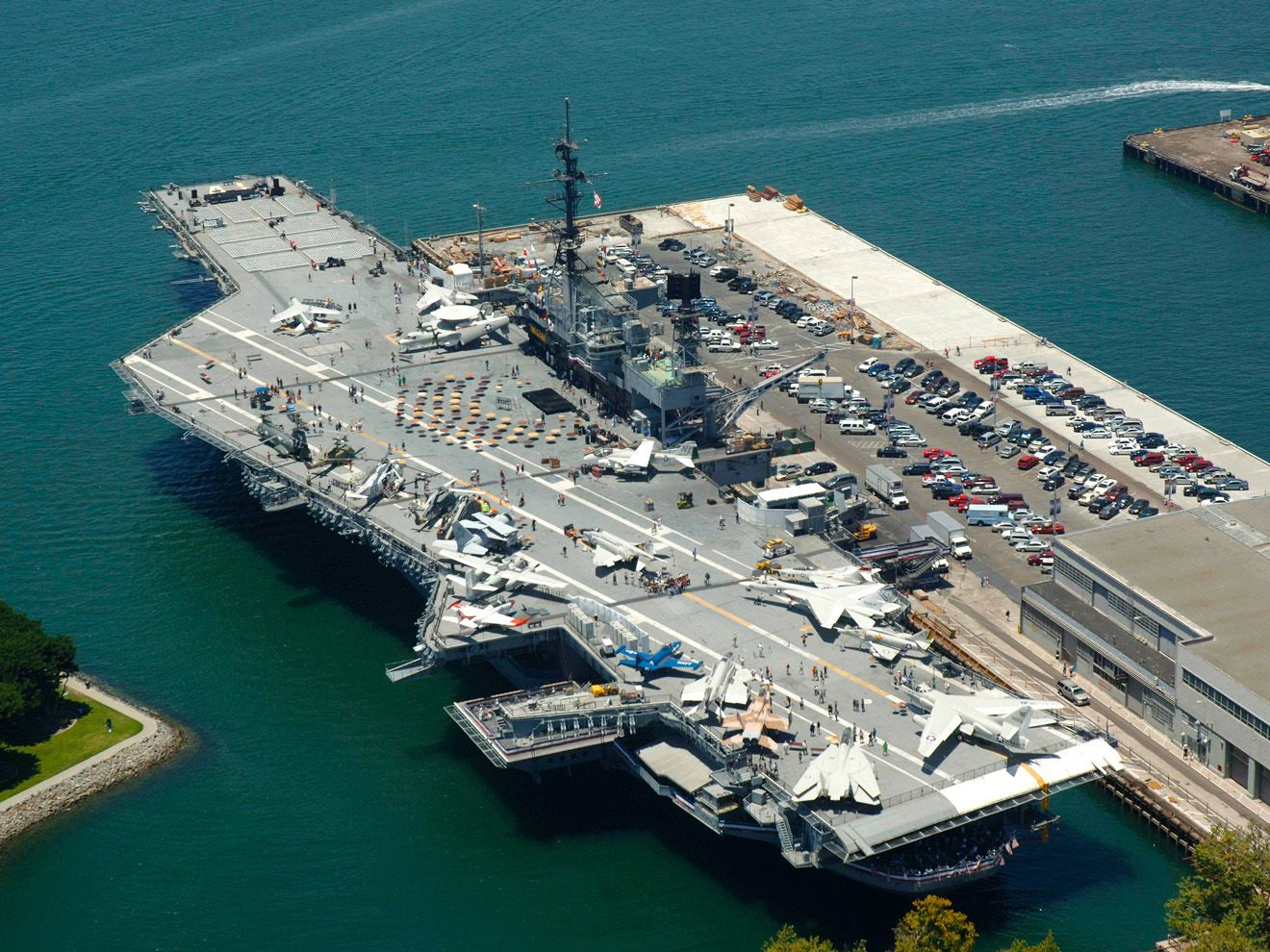Navy Pier in San Diego