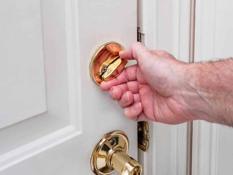testing door locks